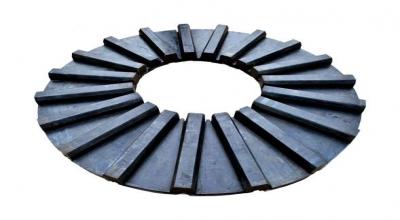 格子球磨机产量稳定与球磨机橡胶衬板的质量密不可分