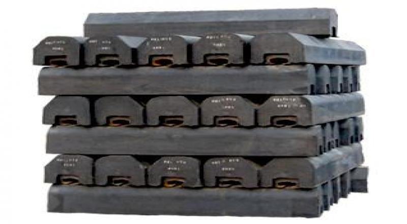 钢胶复合橡胶衬板适合磨矿要求更高的矿山设备